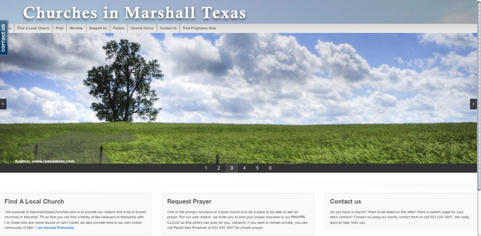 marshalltxchurches